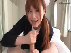 Asian Feet Handjob Japanese Nurse
