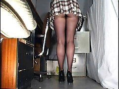 Panties Office Upskirt Pantyhose