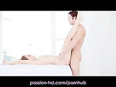 Blonde Hd Massage Ass
