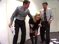 office spanking