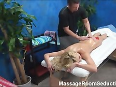 Amateur Blonde Massage Ass Seduced