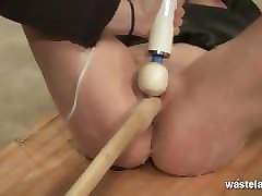tied feet slave