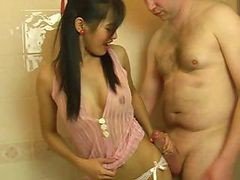 Blowjob Bath Cute Thai