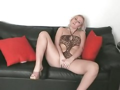 Blonde Leather Toys