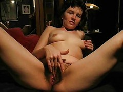 Hairy Masturbation Squirt