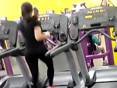 Black Ass Hidden Gym Tight