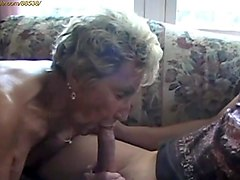 granny anal in a field