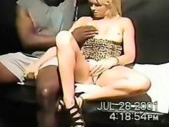 amateur interracial with black panties and bra