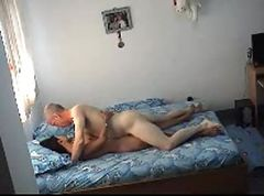 old man cum