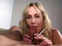 Amateur Smoking Milf